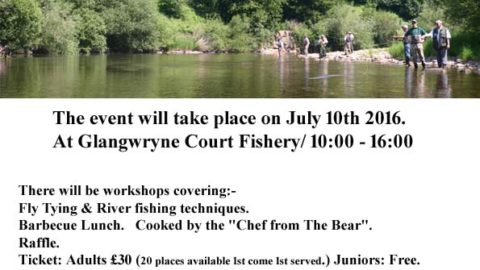 Crickhowell & District Angling Society Fly Fishing Skills Day