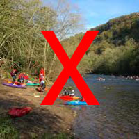 no to canoes