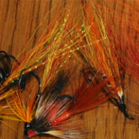 Geoff Franks Salmon Flies Plastic Tubes